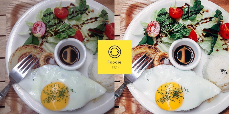 "Introducing ""Foodie"" Dedicated Camera App for Food Photos (PRNewsFoto/LINE Corporation)"